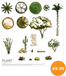 Plant Symbol Library Five